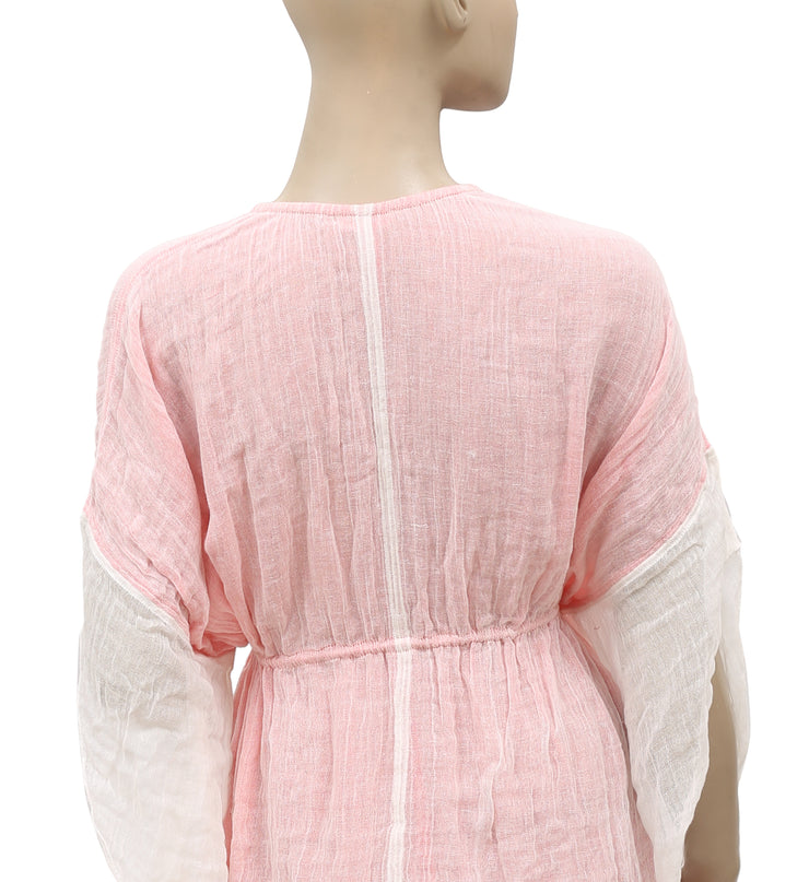 Free People Kimono Sleeve  Pink Coverup S