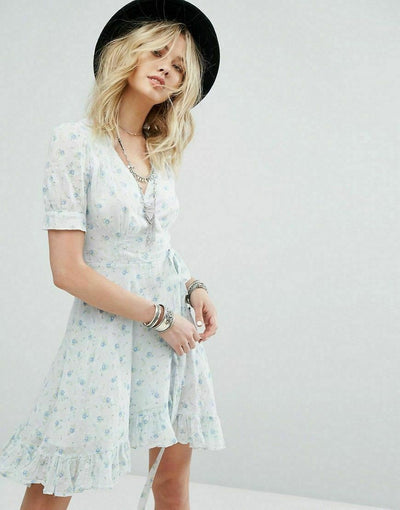 Denim & Supply Ralph Lauren Wrap Coverup Dress S