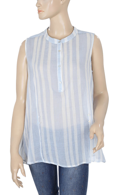 Mudo Collection Striped Tunic Top M