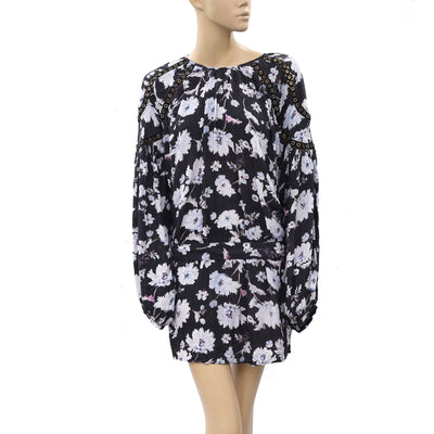 Free People Floral Printed Tunic Dress XL