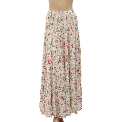 Denim & Supply Ralph Lauren Floral Printed Maxi Skirt XL