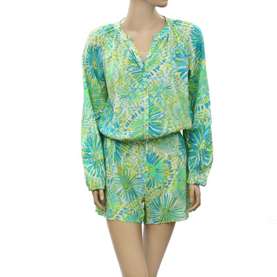 Lilly Pulitzer Elsa Romper Dress S