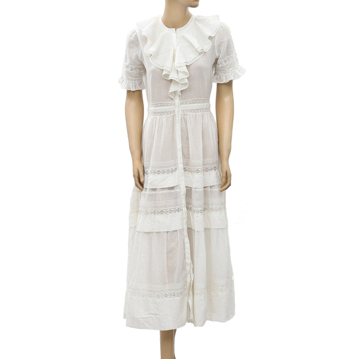 Ulla Johnson Lace Midi Dress S