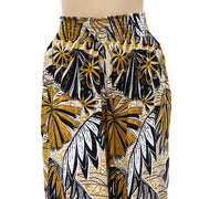 Free People Hawaiian Printed Cropped Pants XL