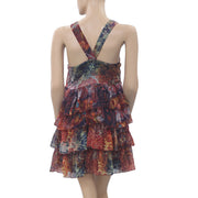 Desigual Miss Fenima Printed Mini Dress S