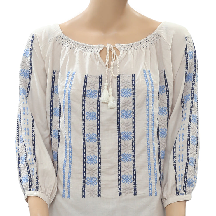 Odd Molly Anthropologie Folktale Tunic Top M