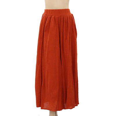Free People Solid Maxi Skirt S