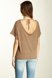 Free People Lace Garden Tee Blouse Top M