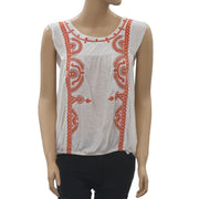 Free People Dos Segundos Blouse Top S