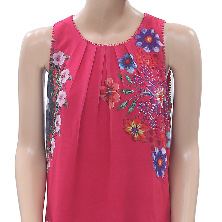 Desigual Vest Sacha Printed Mini Dress S