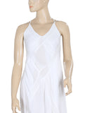 Free People Summer Rain Pintuck White Dress XS