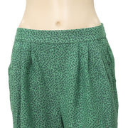 Cooperative Urban Outfitters Printed Green Mini Shorts S