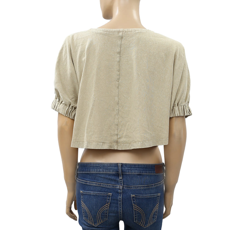 Free People We The Free Sunday Afternoon Crop top S