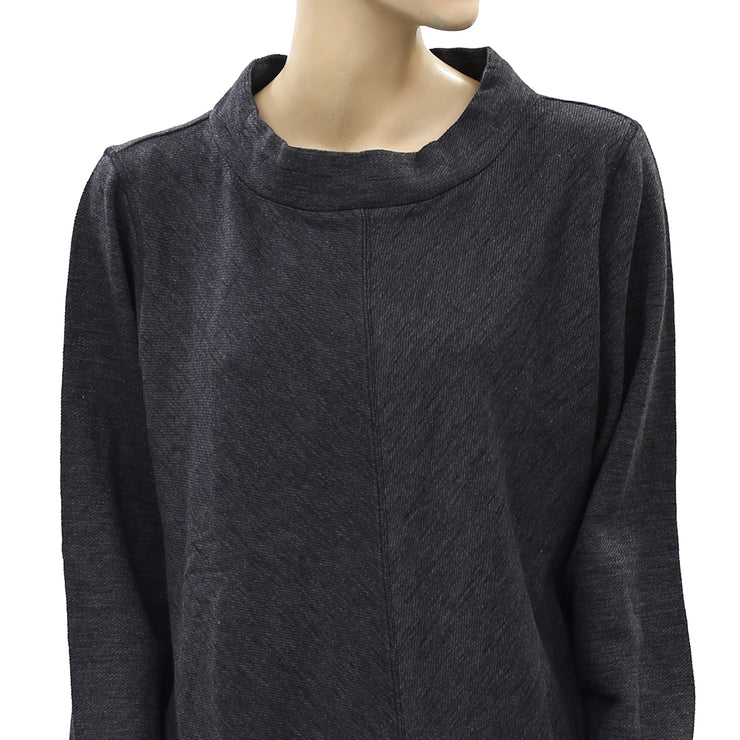 Soft Surroundings Black Pullover Tunic Top XL