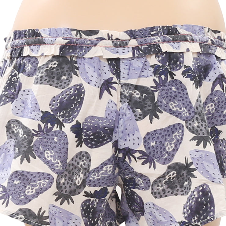 Lilka Memorial Sale Strawberry Printed Shorts XXS