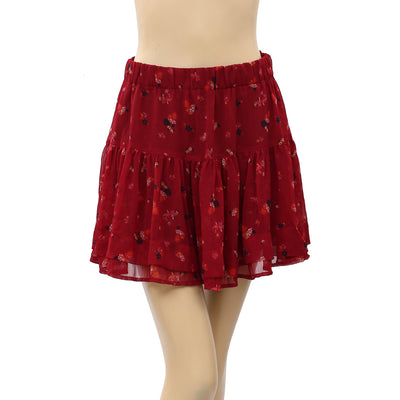 Free People From The Valley Mini Skirt S