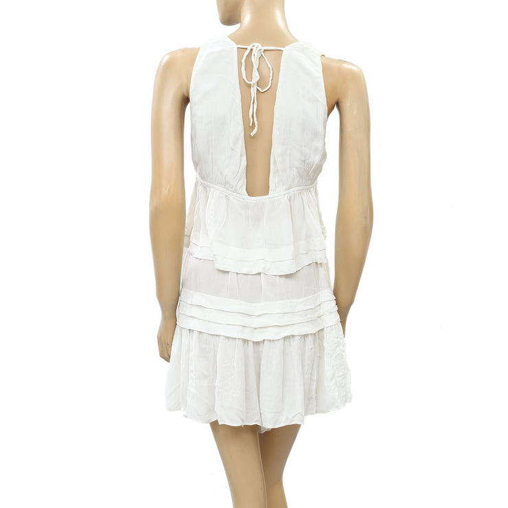 Free People Fell For It Top & Skort Shorts Set S