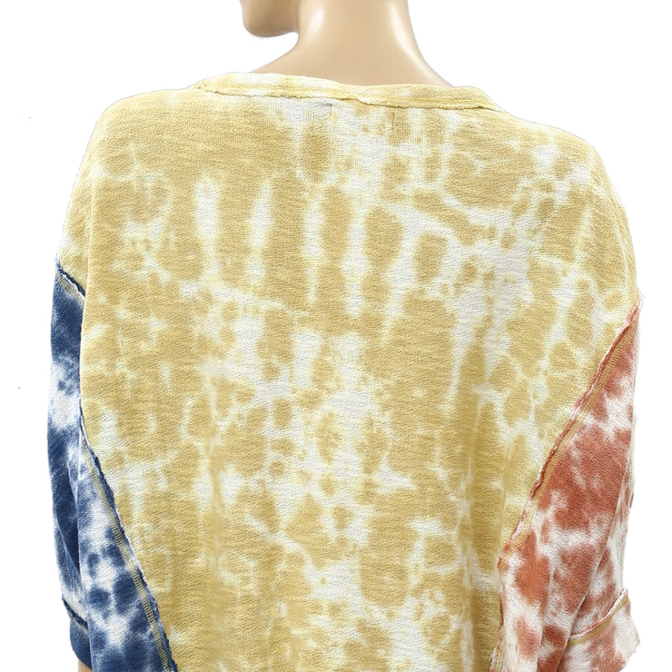 Free People We The Free Chasing The Sun Tie Dye Tee Top
