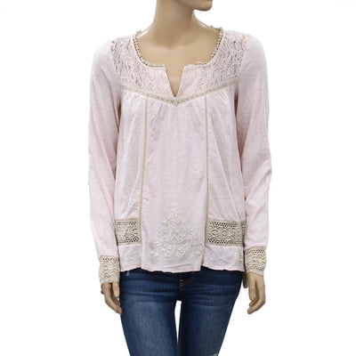 Odd Molly Anthropologie Embroidered Blouse Top S