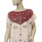 Free People Smoke And Mirrors Kimono Tunic Top M