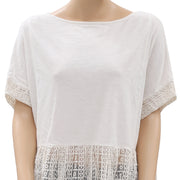 Kimchi Blue Urban Outfitters Embroidered  Top M