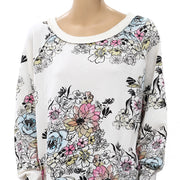 Free People Go On Get Sweatshirt Top