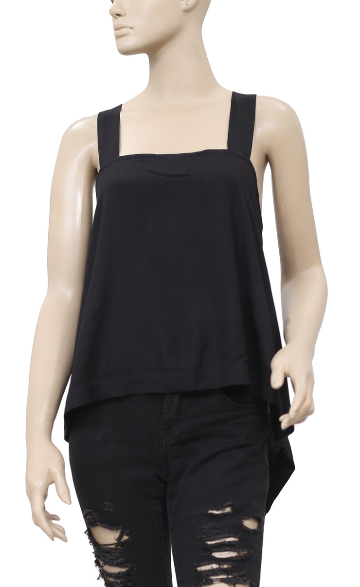 Free People Sleeveless High & Low Top S