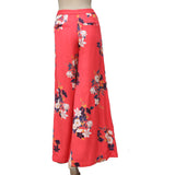 Free People Floral Printed Wide Leg Pocket Coral Pajama Pant XS 0
