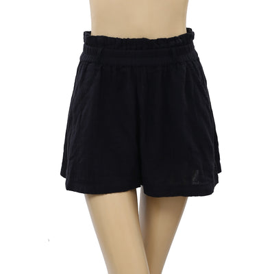 Free People Easy Livin Black Shorts S