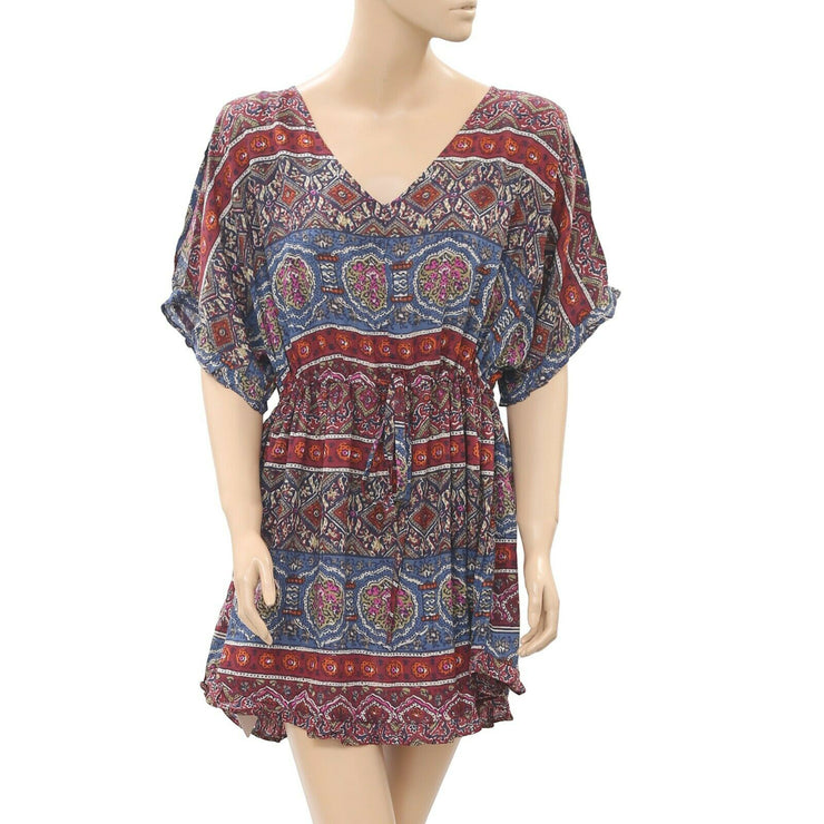Abercrombie & Fitch Printed Tunic Dress Kimono S