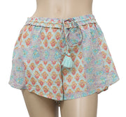 Lilka Sweetest Dreams Sleep Printed Ruffle Shorts L