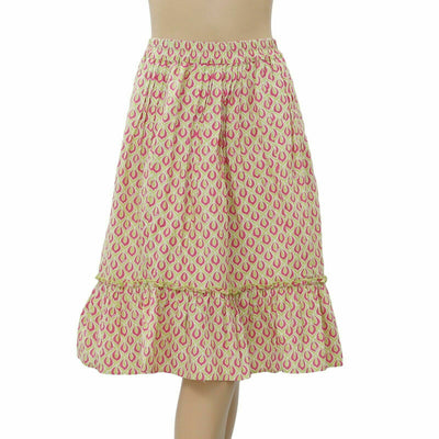 Lilly Pulitzer Printed Midi Skirt XS