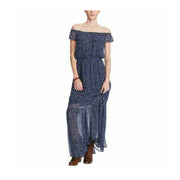 Denim & Supply Ralph Lauren Resort Off Shoulder Maxi Dress M
