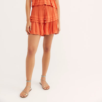 Free People Fell For It Skort Shorts