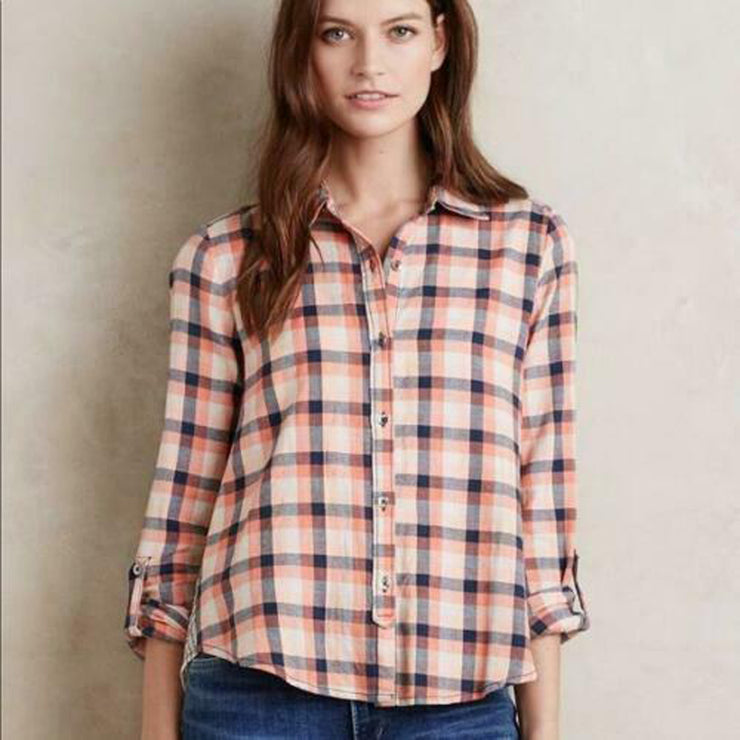 Holding Horses Anthropologie Cedar Grove Top M