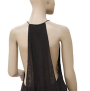 Silence + Noise Urban Outfitter Cutout Black Sleeveless Tunic Top M