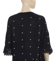 Velvet Alisdair Embellished Lace Top XL