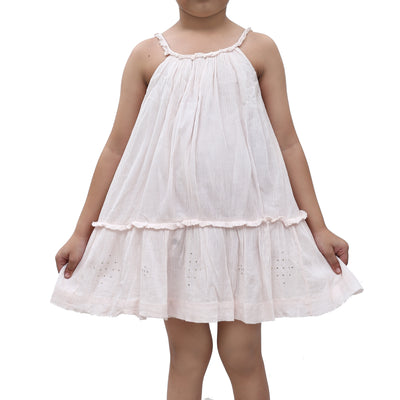 Bonpoint Kids Girl Solid Mini Dress 6 Years