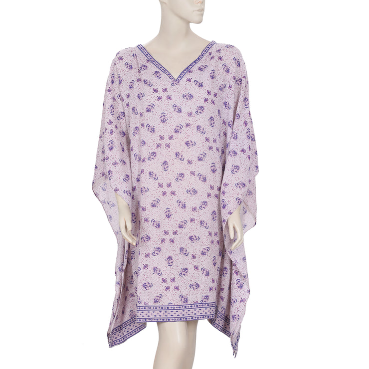 Les Petites Paris Printed Kimono Oversized Kaftan Dress XL