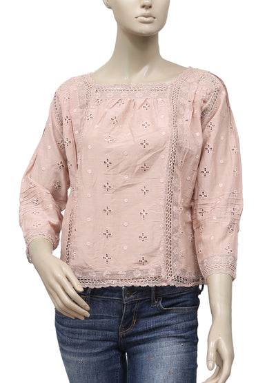 Ulla Johnson Euyelet Embroidered  Top XS 2