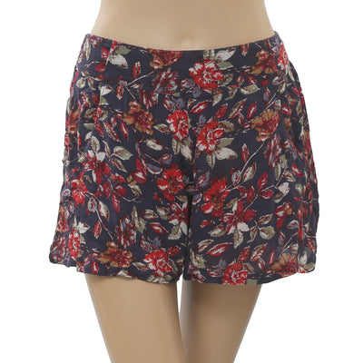 Free People Floral Printed Shorts XS