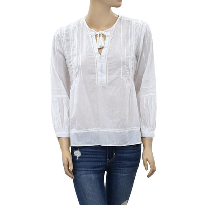 Zara Women's Lace Blouse Top M