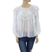 Free People Fp One Camilla Blouse Top