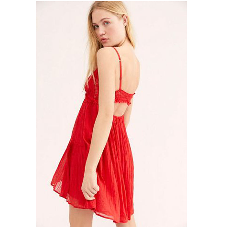 Free People FP One Lucky Slip Mini Dress XS NWT