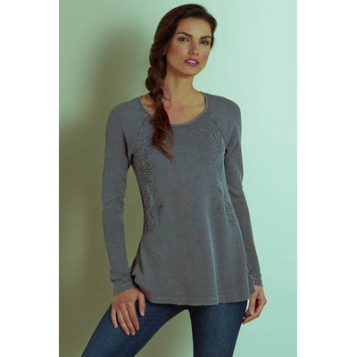 Soft Surroundings Camden Tunic Top L