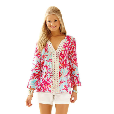 Lilly Pulitzer Luci Tunic Top XS