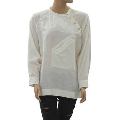 Isabel Marant Oversized Shirt Blouse Top M