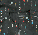 Isabel Marant Cosmic Dot Print Rosa Black Top S