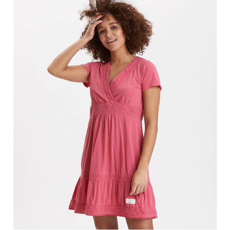 Odd Molly Anthropologie Step Over Mini Dress M