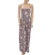 Out From Under Urban Outfitters Floral Printed Jumpsuit M